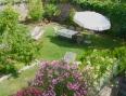Der Garten von oben