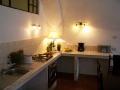 Die Küche ist gut ausgestattet