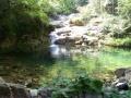 Der Badeteich in Fußweite (1 km)
